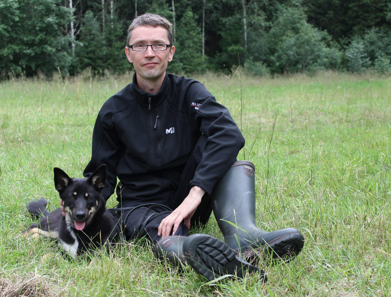Eläinkouluttaja Heikki Karjalainen